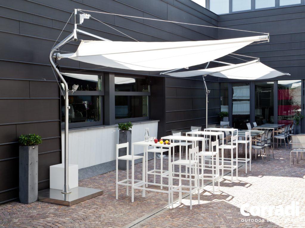 Sonnensegel Defense von der Firma Corradi
